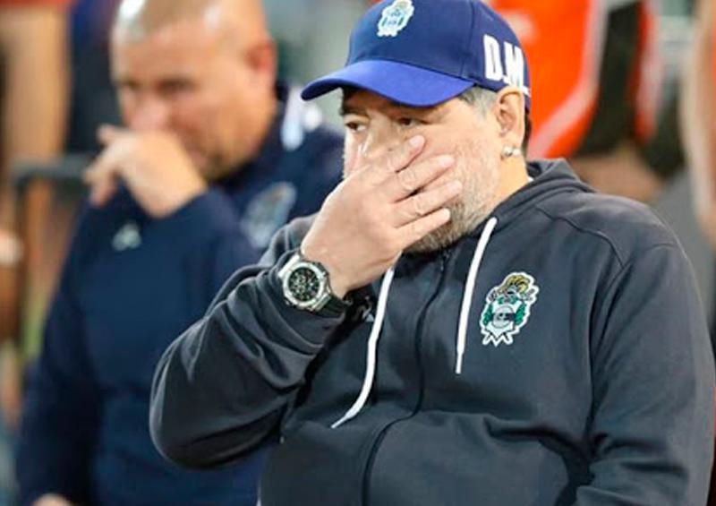 ¿Cómo pasa Diego Maradona su cuarentena?