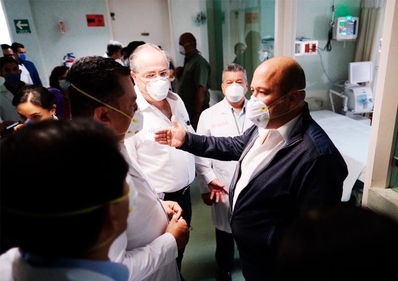 Empresa falló con pruebas para coronavirus en Jalisco Enrique Alfaro