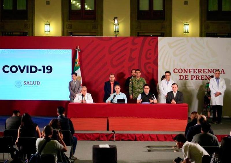 16 muertes y 848 personas infectadas con coronavirus en México
