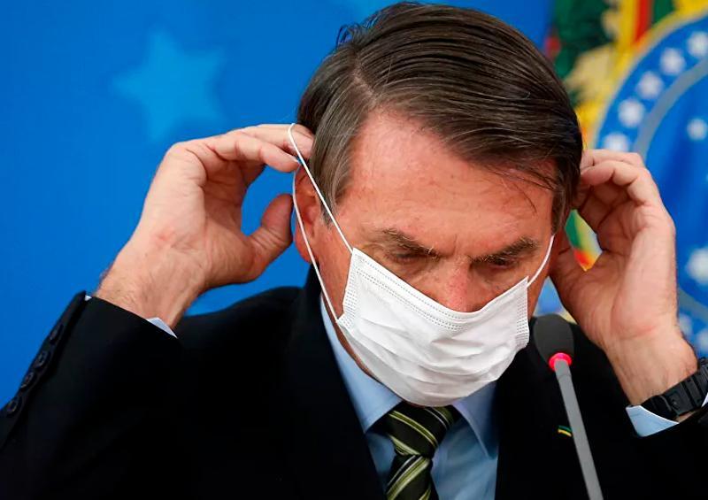 """""""Oportunistas"""" quieren tomar el poder aprovechando Covid-19: Bolsonaro"""
