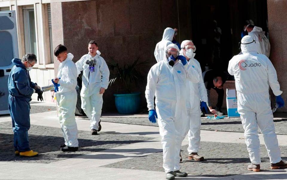 Aíslan a 16 mil personas en Italia por coronavirus
