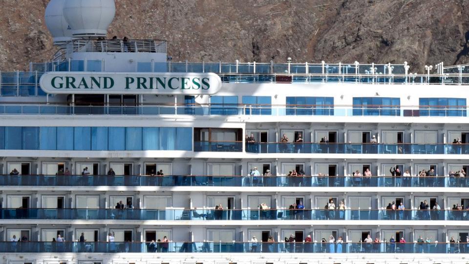 2 pasajeros del Grand Princess demandaron por negligencias ante el brote de coronavirus