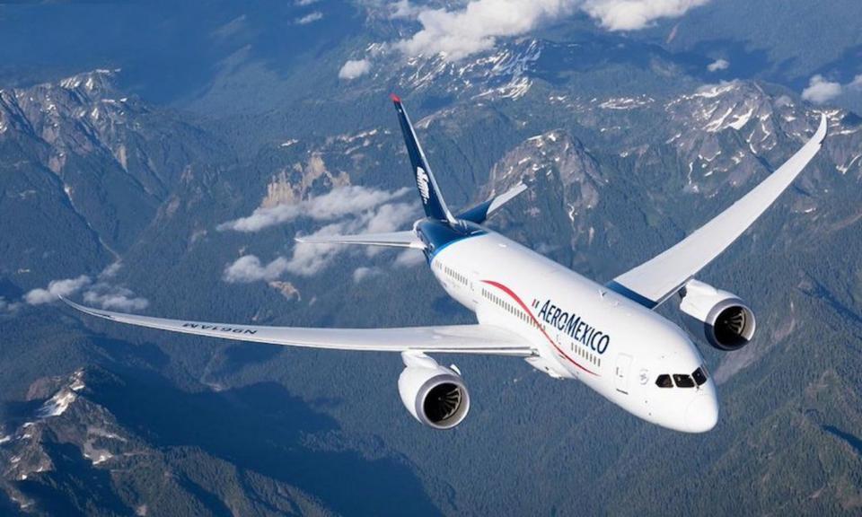 Aeroméxico cancela vuelos a Europa por coronavirus