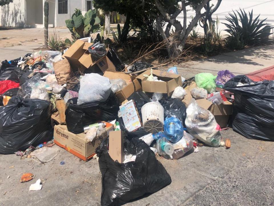 Sigue deficiente el servicio de recolección de basura La Paz