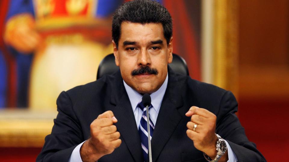 Maduro amenaza a EE.UU. y Colombia
