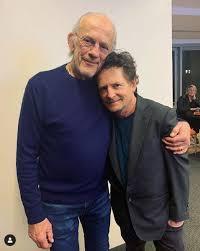 Doc y Marty de 'Volver al futuro' se reunieron