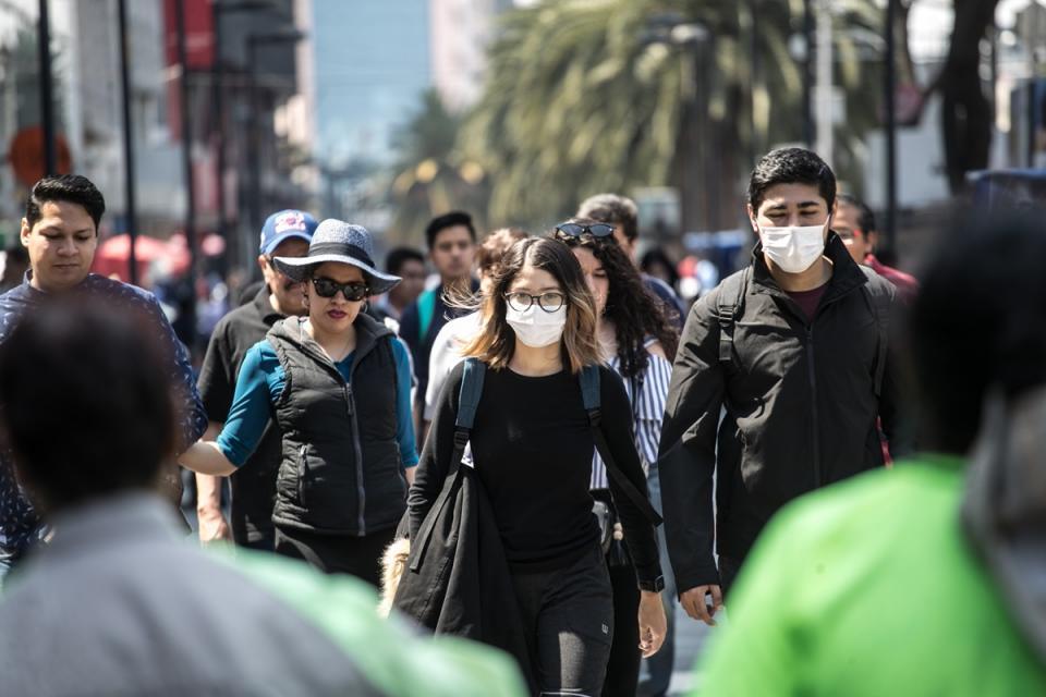 203 casos confirmados, 606 sospechosos y 2 defunciones en México