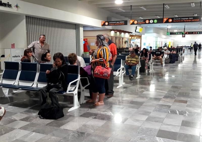 70% de vuelos cancelados en aeropuerto de La Paz