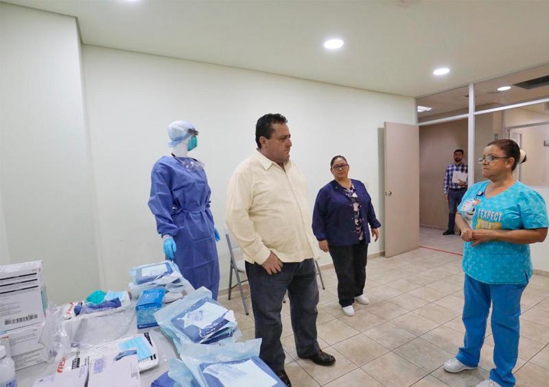 Establece gobierno estatal unidad de diagnóstico y tratamiento por Covid-19 en La Paz