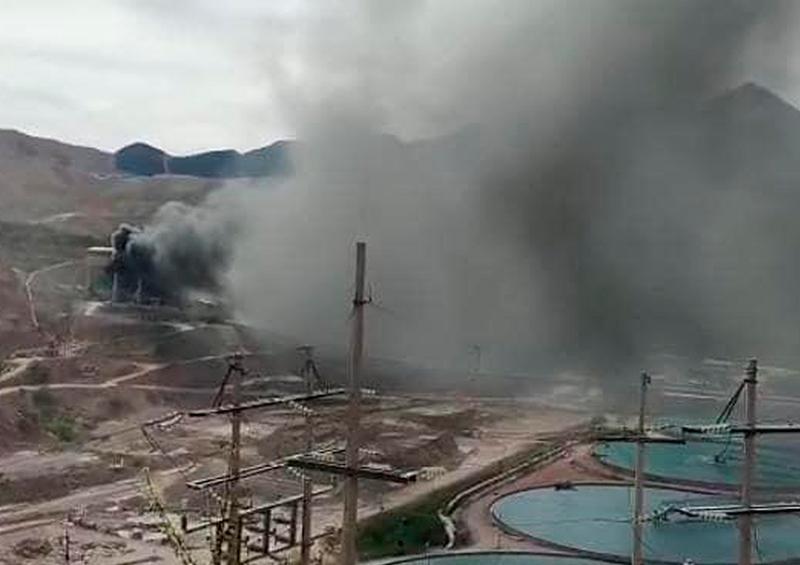Explotó mina de Grupo México en Sonora