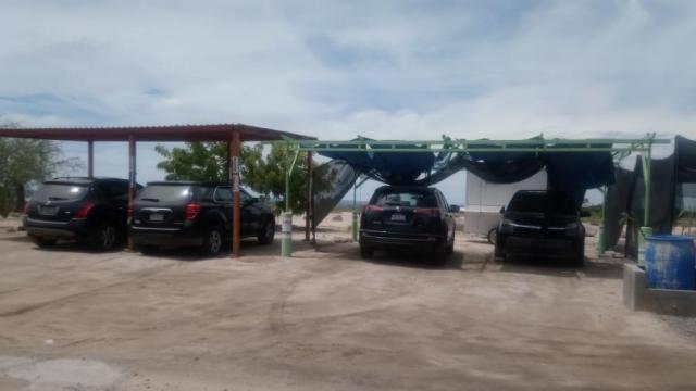 Usan zona aledaña a los manglares como estacionamiento