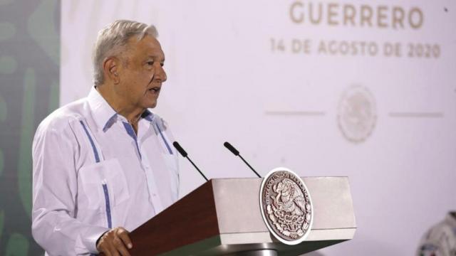 AMLO en conferencia de prensa desde Acapulco