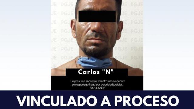 vinculado a proceso Carlos N