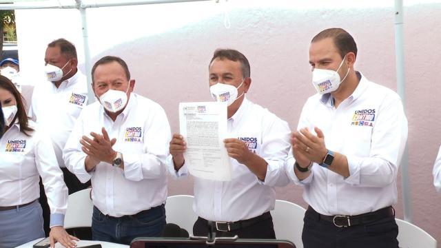 Pancho Pelayo se registra como candidato a la gubernatura de BCS
