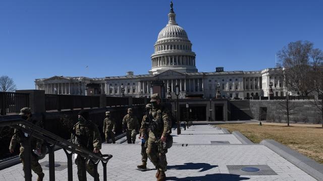 Se refuerza seguridad en el Capitolio