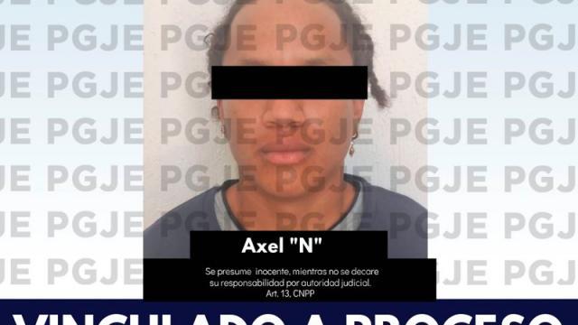 Axel N queda vinculado a proceso por robo en CSL
