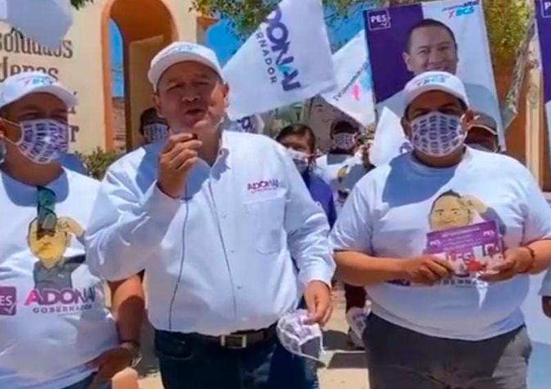 Adonaí Carreón se compromete a activar la economía de San Ignacio