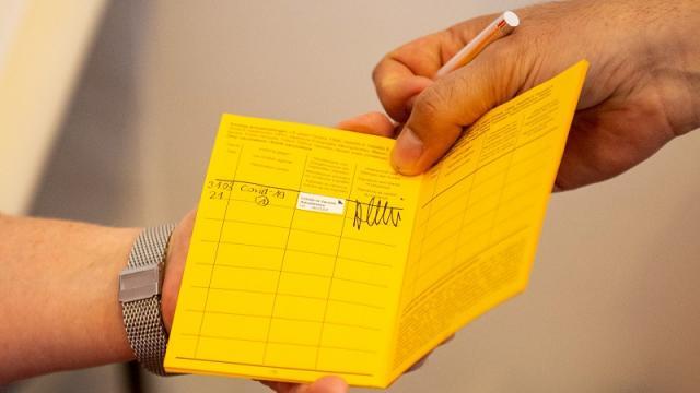 Pasaporte de vacuna contra covid-19