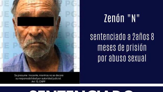 Por abuso, Zenón pasará 2 años en prisión