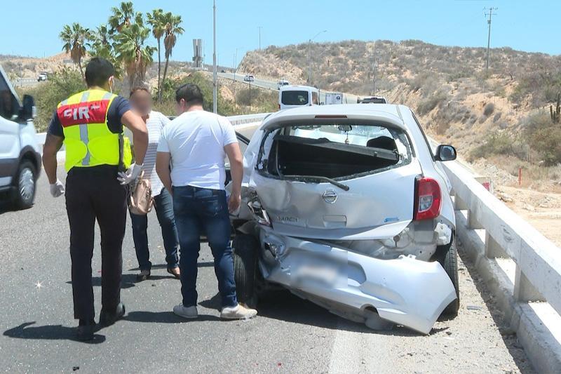 Accidente vial en corredor turístico