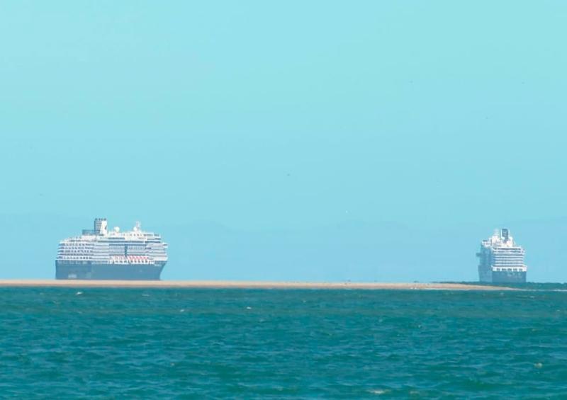 Cruceros estacionados en La Paz no han derramado aceite: API