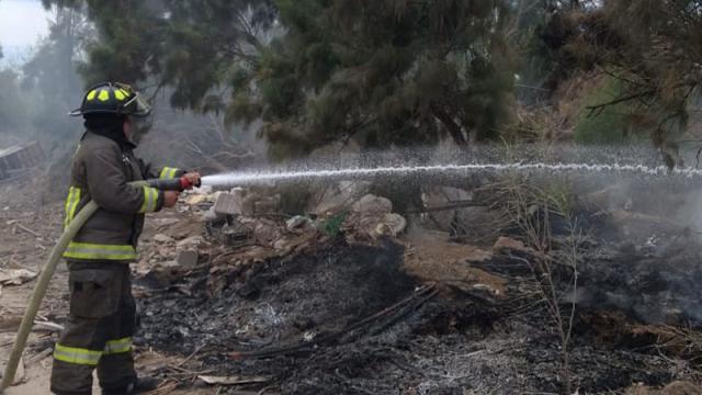Sufre conato de incendio Eco Parque de la Juventud de La Paz