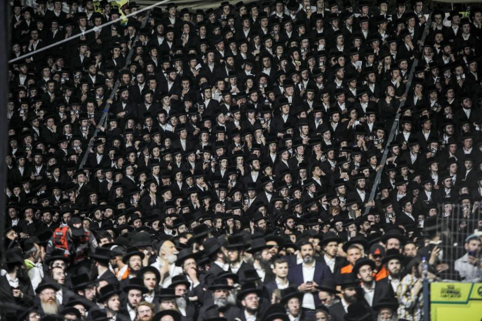Al menos 44 muertos en estampida en Israel