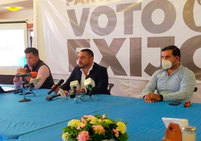"""Jóvenes empresarios promueven campaña """"Yo sí voto"""""""