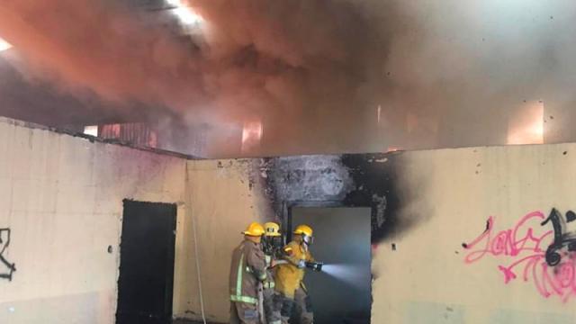 Logran mitigar fuego en Loreto