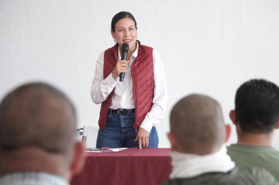 Milena Quiroga candidata de Morena por la alcaldía de La Paz