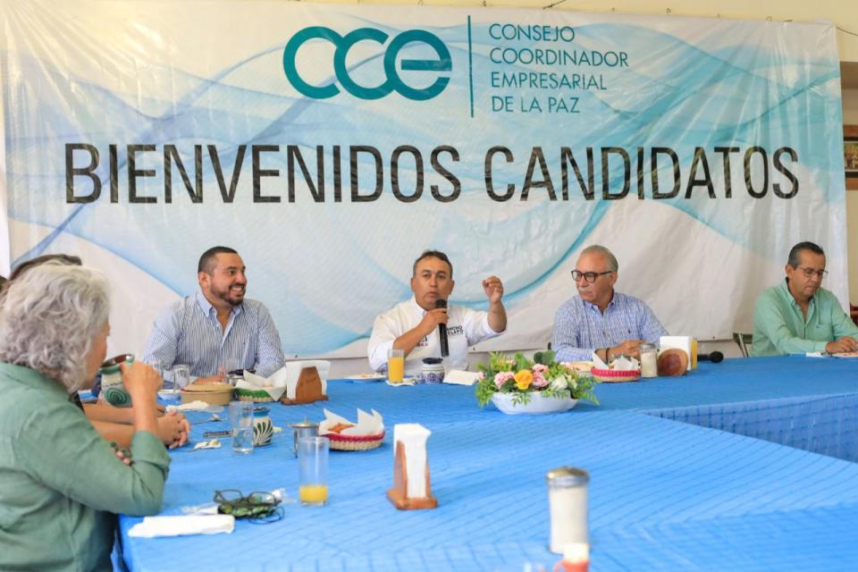 Candidato a la gubernatura de BCS por la Alianza Unidos Contigo