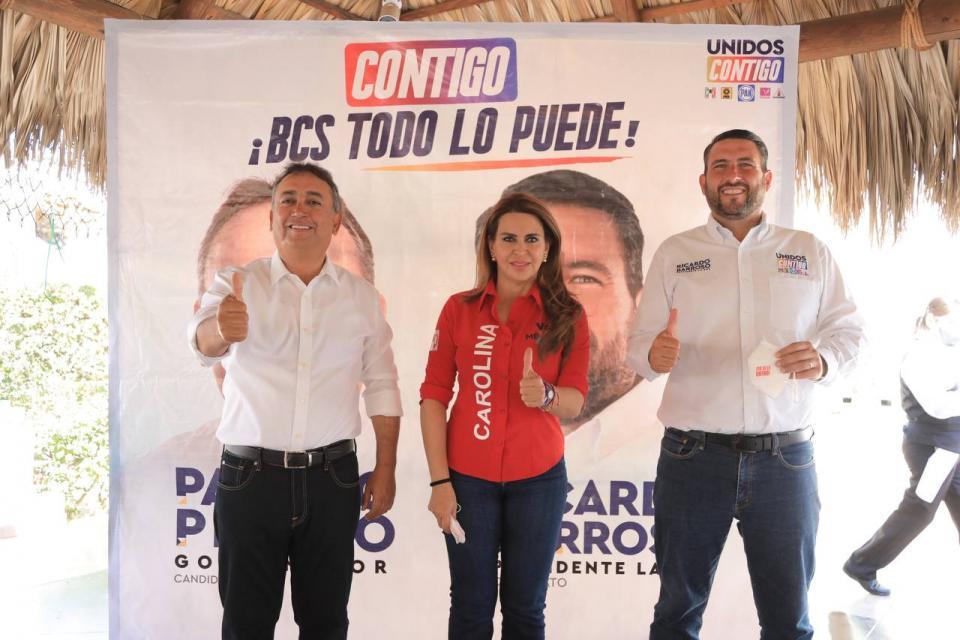 Francisco Pelayo con Ricardo Barroso