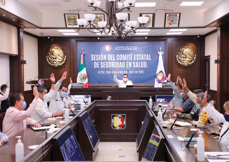Permanece La Paz en el nivel 4 del sistema de alerta sanitario