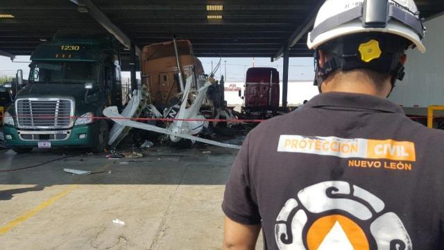 Se desploma avioneta en Ciénega de Flores, Nuevo León