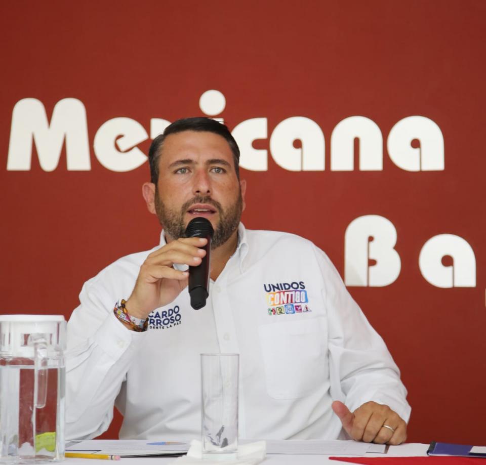Candidato a la alcaldía de La Paz