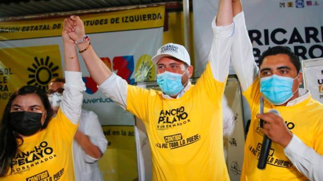 Jóvenes  del PRD reafirman todo su apoyo a Ricardo Barroso