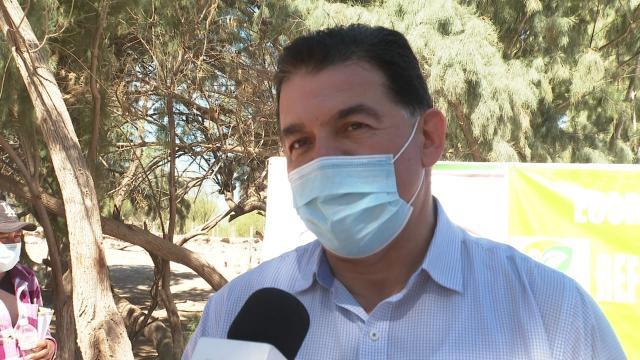 Rubén Muñoz, alcalde de La Paz