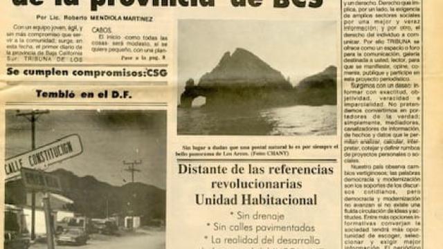 Primera Portada Tribuna de Los Cabos