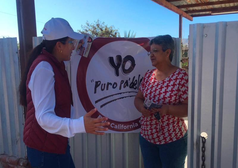 Respaldar la seguridad de las mujeres paceñas será prioridad: Milena Quiroga