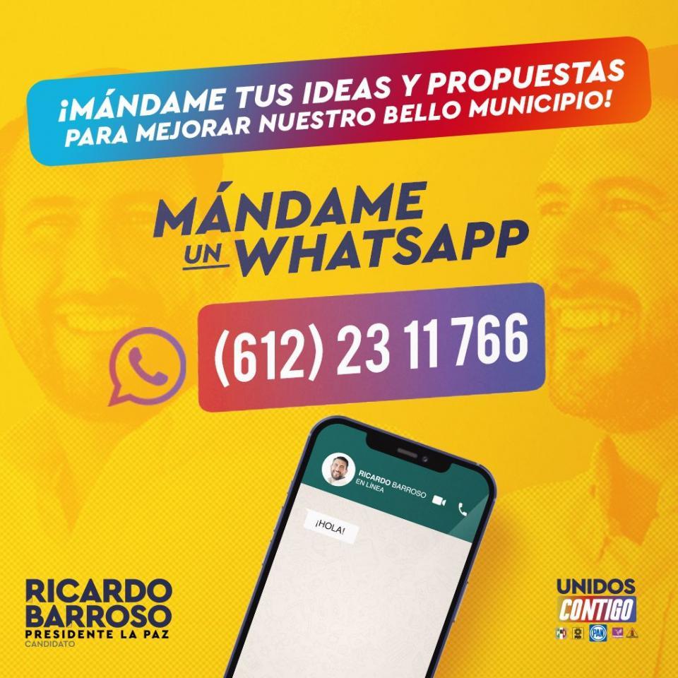 Whatsapp Ricardo Barroso
