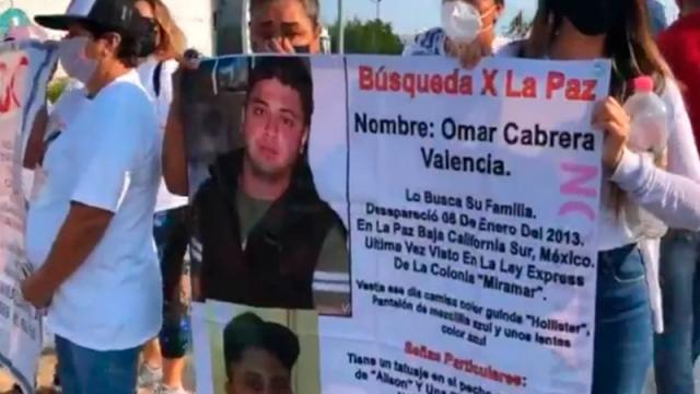 Mamás de desaparecidos encabezan marchas en varios estados