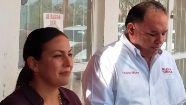 Barroso usa a familiares como prestanombres: Milena Quiroga