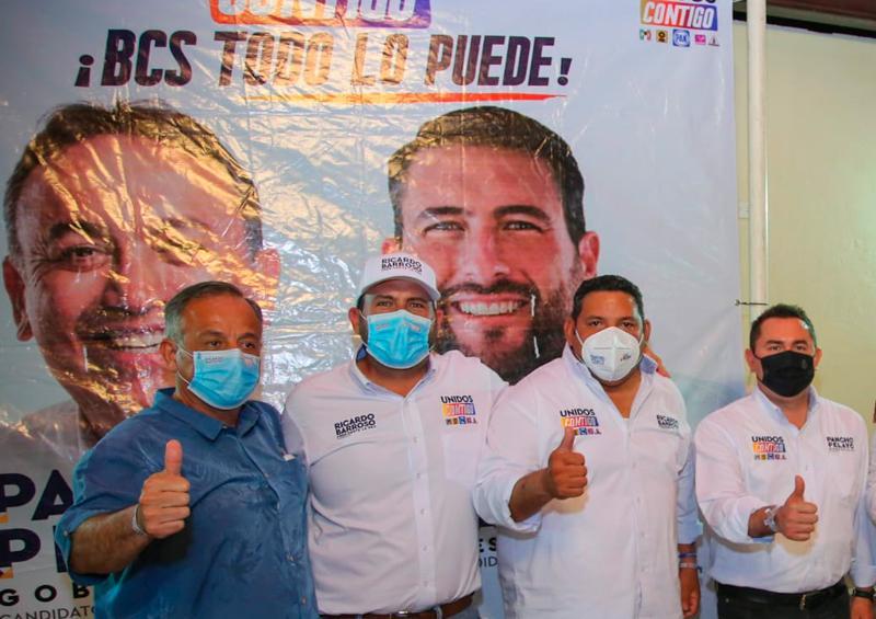 Los jóvenes de Fuerza Ciudadana están con Ricardo Barroso