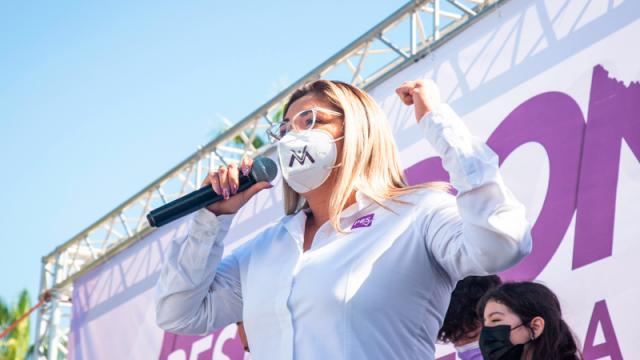 Lorenia Montaño, representa la defensa de la vida