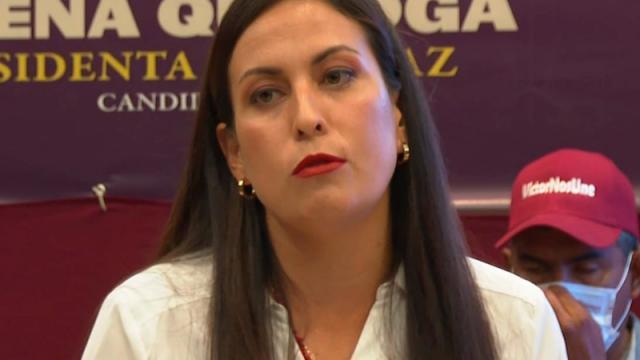 Hablar con la verdad no es un delito: Milena Quiroga