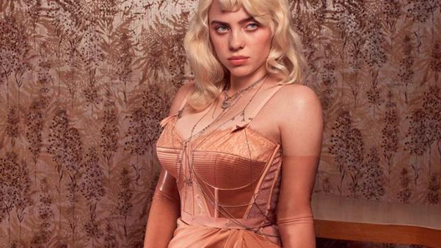 Billie Eilish posa para la revista Vogue al estilo Pin-Up