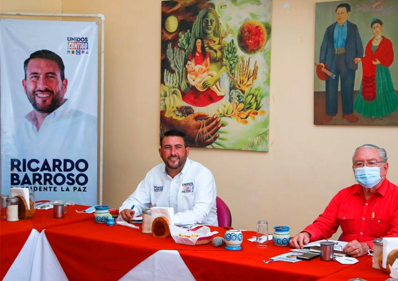 Rescataremos los espacios culturales en La Paz: Barroso