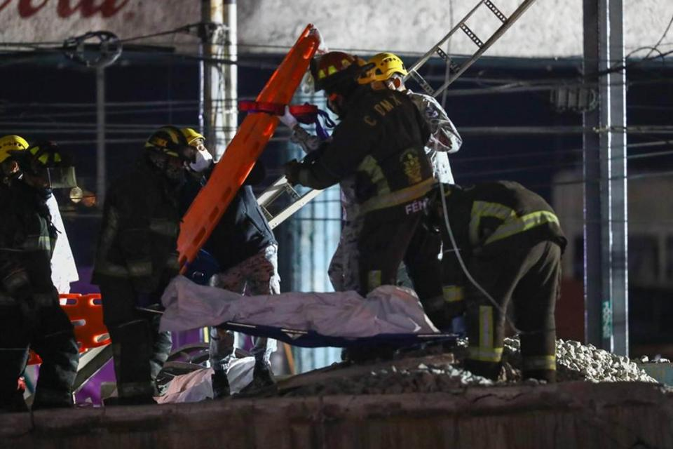 Accidente en el metro de la CDMX