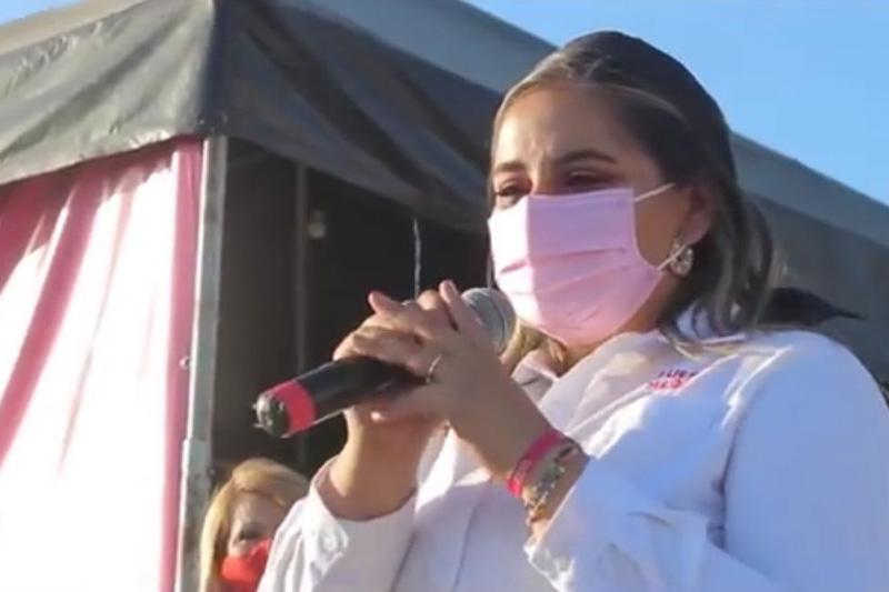 Candidata de Fuerza por México a la diputación del Distrito I