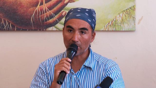 Vocero del Frente Ciudadano en Defensa del Agua y la Vida